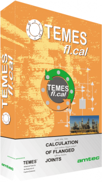Software TEMES fl.cal for flange calculations